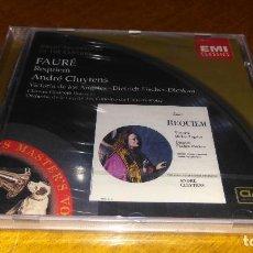CDs de Música: FAURE , REQUIEM . Lote 109412299
