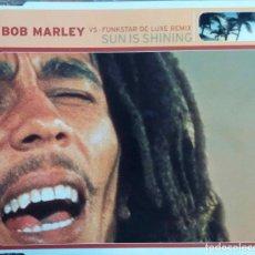 CDs de Música: BOB MARLEY VS FUNKSTAR DE LUXE REMIX. SUN IS SHINING. CD 3 TEMAS. Lote 109433043
