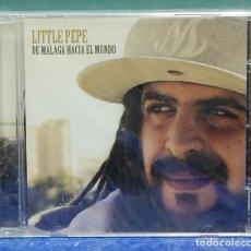 CDs de Música: LITTLE PEPE. DE MÁLAGA HACIA EL MUNDO. GERMAICA IBERIA 2011. CD PRECINTADO. Lote 109439903