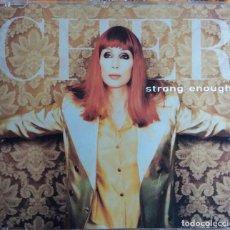 CDs de Música: CHER. STRONG ENOUGH. CD SINGLE. 3 TEMAS. Lote 109440811
