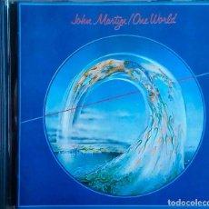 CDs de Música: JOHN MARTYN. ONE WORLD. CD. Lote 109441559