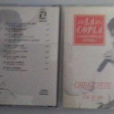 CDs de Música: CHIQUETETE TU Y YO CD 1991. Lote 109474275