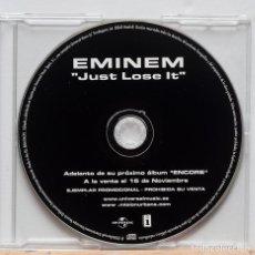 CDs de Música: EMINEM / JUST LOSE IT . Lote 109479139