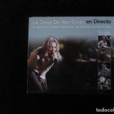 CDs de Música: LA OREJA DE VAN GOGH EN DIRECTO, LO QUE TE CONTE - CONTIENE 1 CD + 1 DVD - NUEVO SOLO DESPRESINTADO . Lote 109481543