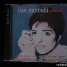 CDs de Música: LIZA MINNELLI CABARET - NUEVO SOLO DESPRESINTADO . Lote 109482283