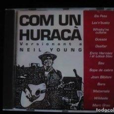 CDs de Música: COM UN HURACA VERSIONANT A NEIL YOUNG - NUEVO SOLO DESPRESINTADO . Lote 109482507