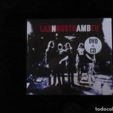 CDs de Música: LAX N BUSTO AMB TU - CONTIENE 1 CD + 1 DVD - NUEVO PRECINTADO. Lote 109483391