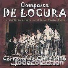 CDs de Música: DE LA INDIA MISTERIOSA... LOS EDUARDOS. CHIRIGOTA DE CÁDIZ. Lote 109486351