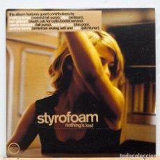 CDs de Música: STYROFOAM / NOTHING'S LOST. Lote 109486723