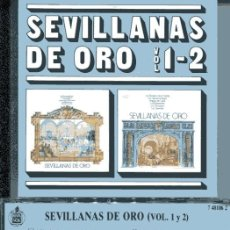 CDs de Música: SEVILLANAS DE ORO VOL. 1-2 (CD HISPAVOX 1988). Lote 109487947