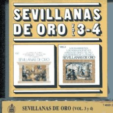 CDs de Música: SEVILLANAS DE ORO VOL. 3-4 (CD HISPAVOX 1988). Lote 109488087