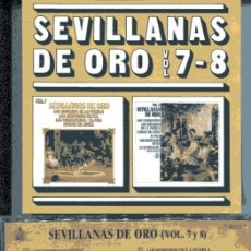 CDs de Música: SEVILLANAS DE ORO VOL. 7-8 (CD HISPAVOX 1988). Lote 109488215