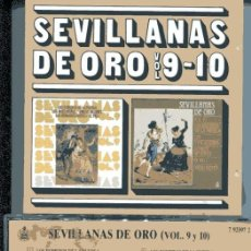 CDs de Música: SEVILLANAS DE ORO VOL. 9-10 (CD HISPAVOX 1988). Lote 109488311