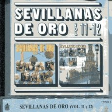 CDs de Música: SEVILLANAS DE ORO VOL. 11-12 (CD HISPAVOX 1989). Lote 109488391