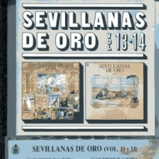 CDs de Música: SEVILLANAS DE ORO VOL. 13-14 (CD HISPAVOX 1989). Lote 109488503