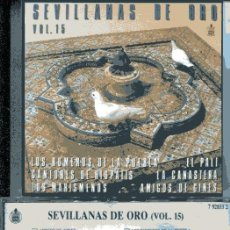 CDs de Música: SEVILLANAS DE ORO VOL. 15 (CD HISPAVOX 1989). Lote 109488563