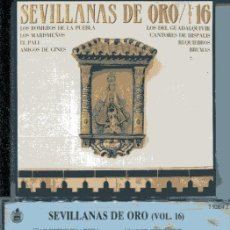 CDs de Música: SEVILLANAS DE ORO VOL. 16 (CD HISPAVOX 1989). Lote 109488627