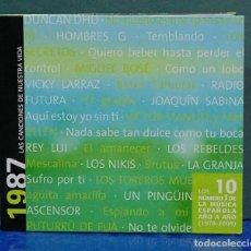 CDs de Música: LAS CANCIONES DE NUESTRA VIDA, 1987. CD . Lote 109492899