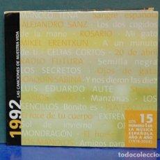 CDs de Música: LAS CANCIONES DE NUESTRA VIDA, 1992. CD . Lote 109493043