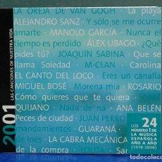 CDs de Música: LAS CANCIONES DE NUESTRA VIDA, 2001. CD . Lote 109493571