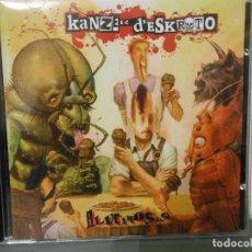 CDs de Música: KANZER D'ESKROTO - ALUCINOSIS. Lote 109507991
