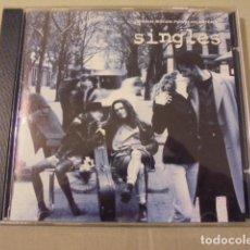 CDs de Música: SINGLES SOLTEROS BANDA SONORA / HENDRIX PEARL JAM MUDHONEY CORNELL PUMPKINS. Lote 109508647