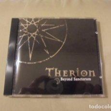 CDs de Música: THERION - BEYOND SANCTORUM - NUCLEAR BLAST AÑO 2000 ( ORIGINAL DE 1992 ) - CON 1ª DEMO BONUS TRACKS. Lote 109508811