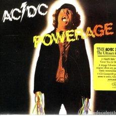 CDs de Música: AC DC , POWERAGE , CD DIGIPACK 2003 REMASTERIZADO. Lote 109534283