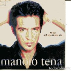 CDs de Música: MANOLO TENA / TE DESEO (CD SINGLE CARTON PROMO 1997). Lote 109545559