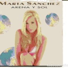 CDs de Música: MARTA SANCHEZ / ARENA Y SOL (CD SINGLE CARTON PROMO 1995) . Lote 109545847