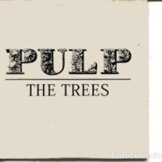 CDs de Música: PULP / THE TREES (CD SINGLE CARTON PROMO 2001) . Lote 109546755