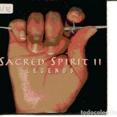 CDs de Música: SACRED SPIRIT II / LEGENDS (CD SINGLE CARTON PROMO 1997) . Lote 109547171