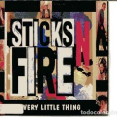 CDs de Música: STICKS N FIRE / EVERY LITTLE THING (CD SINGLE CARTON PROMO 1994) . Lote 109547363