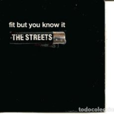 CDs de Música: THE STREETS / FIT BUT YOU KNOW IT (CD SINGLE CARTON PROMO 2004) . Lote 109547463