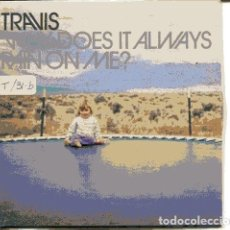 CDs de Música: TRAVIS / WHY DOEST IT ALWAYS... (CD SINGLE CARTON PROMO 1999) . Lote 109547847