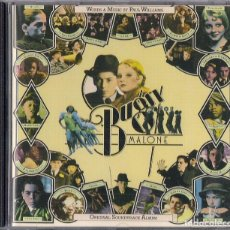CDs de Música: BUGSY MALONE : BANDA SONORA ORIGINAL COMPUESTA POR PAUL WILLIAMS - EDICION ORIGINAL UK POLYDOR. Lote 109549063