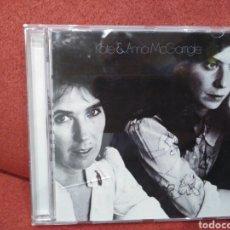 CDs de Música: KATE & ANNA MCGARRIGLE RHINO RECORDS CD 1975 (FOLK ROCK) PROD. JOE BOYD CON TONY LEVIN STEVE GADD.... Lote 109573004