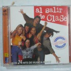 CDs de Música: BSO AL SALIR DE CLASE - LOS 24 HITS DE MÚSICA DANCE - 2 CDS 1998. Lote 109574083