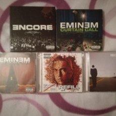 CDs de Música: LOTE 5 DISCOS DE EMINEM 8CD'S. Lote 109582819