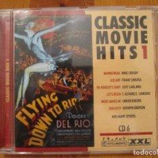 CDs de Música: CLASSIC MOVIE HITS 1 - CD 6 CANCIONES BANDAS SONORAS. Lote 109603691