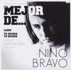 CDs de Música: 'LO MEJOR DE NINO BRAVO'. 15 TEMAS. UNIVERSAL MUSIC. 2013. BUEN ESTADO.. Lote 109619163