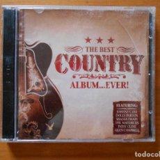 CDs de Música: CD THE BEST COUNTRY ALBUM... EVER! (2 CD) - JOHNNY CASH, DOLLY PARTON, SHANIA TWAIN... (8G). Lote 109730403