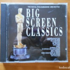 CDs de Música: CD BIG SCREEN CASSICS - GONE WITH THE WIND, THE GODFATHER, CASABLANCA, DR. ZHIVAGO, GHOST... (8G). Lote 109731079