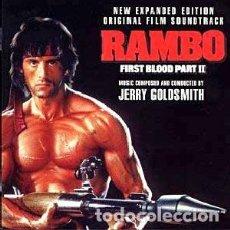 CDs de Música: RAMBO: ACORRALADO II - RAMBO: FIRST BLOOD PART II MÚSICA COMPUESTA Y DIRIGIDA POR JERRY GOLDSMITH. Lote 109750495