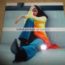 CDs de Música: ISABEL PANTOJA EL MORENO CD SINGLE PROMOCIONAL DE CARTON AÑO 2004 ROBERTO LIVI 1 TEMA. Lote 109784480