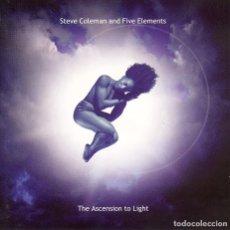 CDs de Música: STEVE COLEMAN AND FIVE ALEMENTS / THE ASCENSION TO LIGHT. Lote 109850987