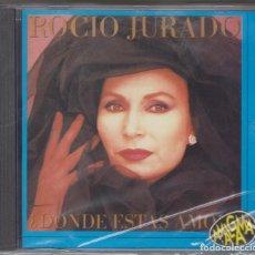 CDs de Música: ROCÍO JURADO CD ¿DÓNDE ESTÁS AMOR? 1994 AMALGAMA (PRECINTADO). Lote 109851007