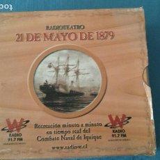 CDs de Música: 21 DE MAYO DE 1879 COLECCION CD RADIOTEATRO. Lote 109941195