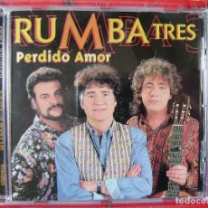 CDs de Música: RUMBA 3.PERDIDO AMOR...DIFICIL. Lote 109987255