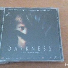 CDs de Música: DARKNESS / CARLES CASES CD BSO. Lote 109992711
